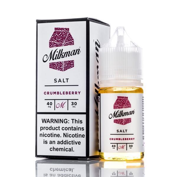 Crumbleberry by Milkman Salts